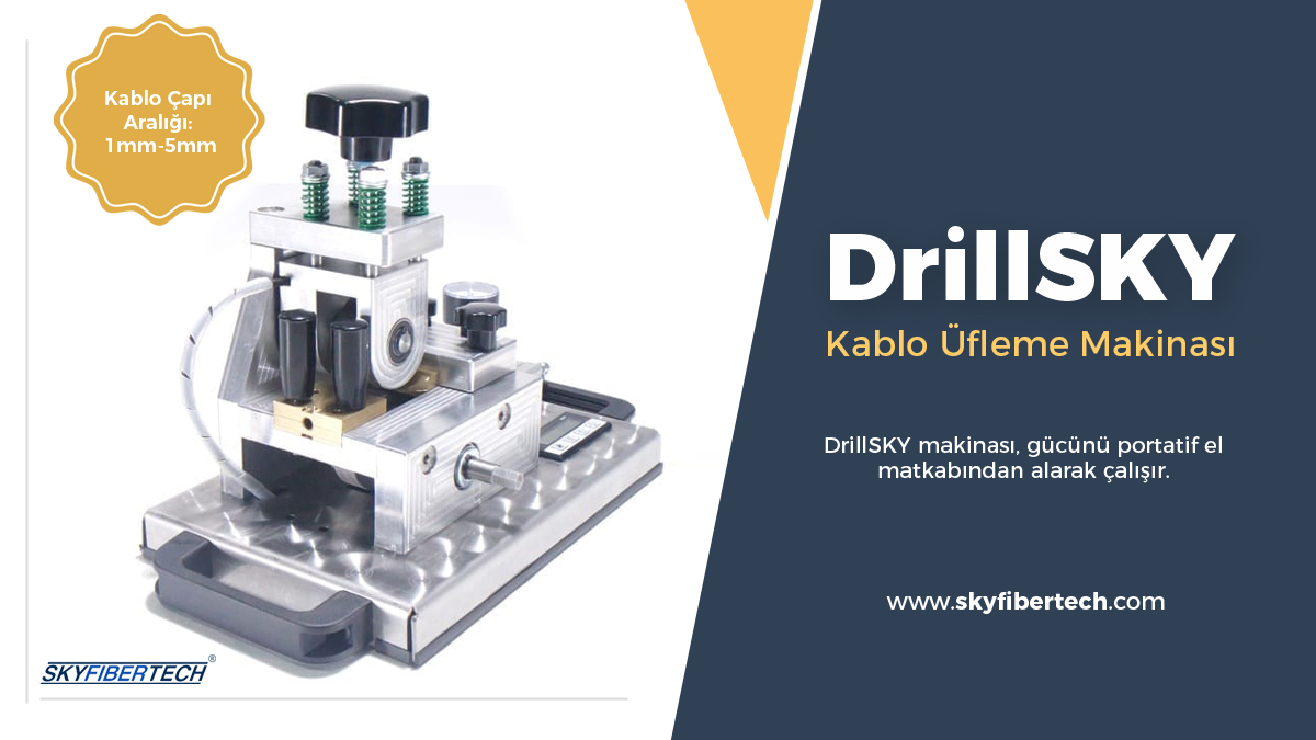 DrillSky-Kablo-üfleme-makinası
