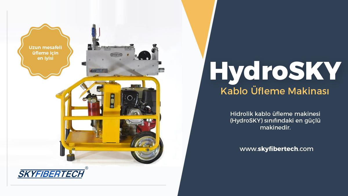 HydroSky-Kablo-Üfleme-Makinası