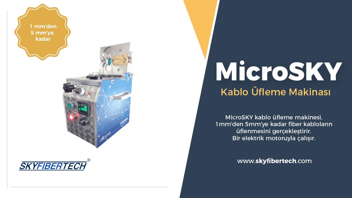 MicroSky-Kablo-Üfleme-Makinası