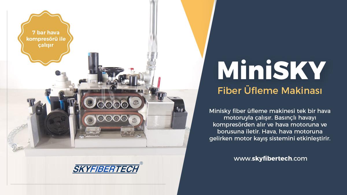 MiniSky-Fiber-üfleme-makinası