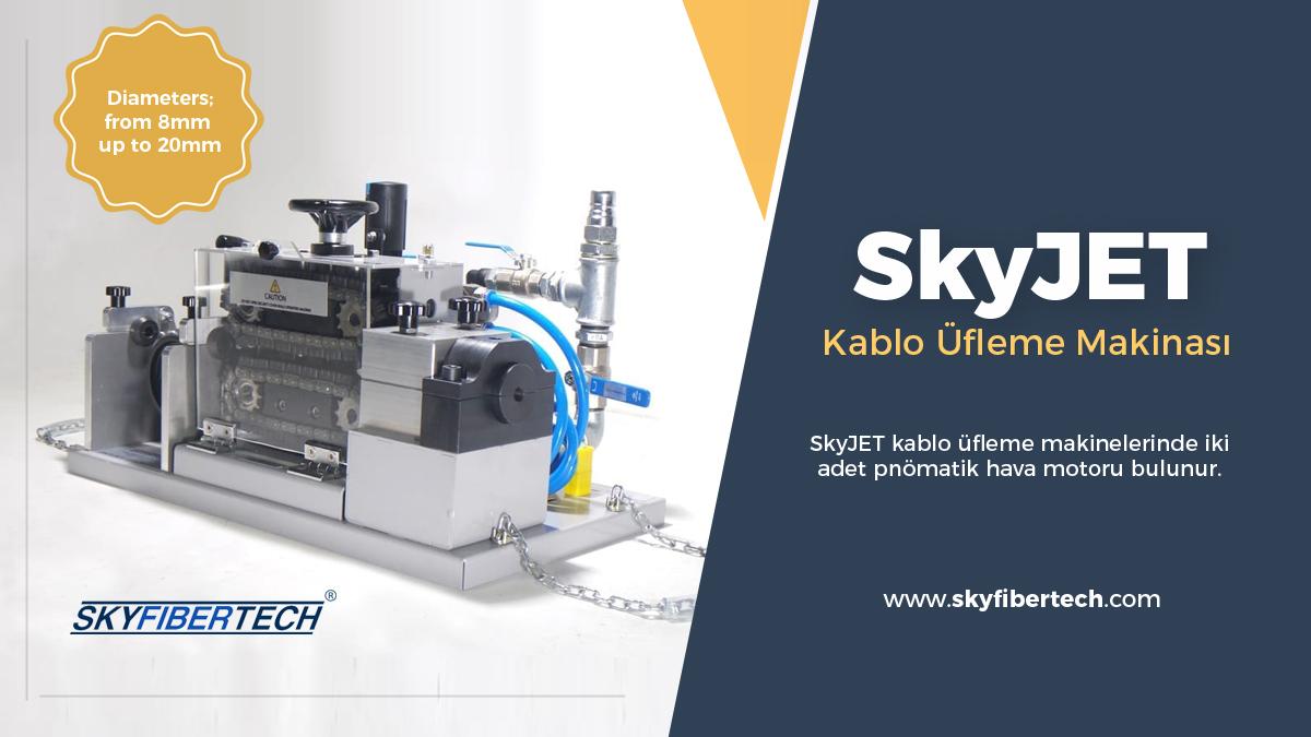 Skyjet-kablo-üfleme-makinası