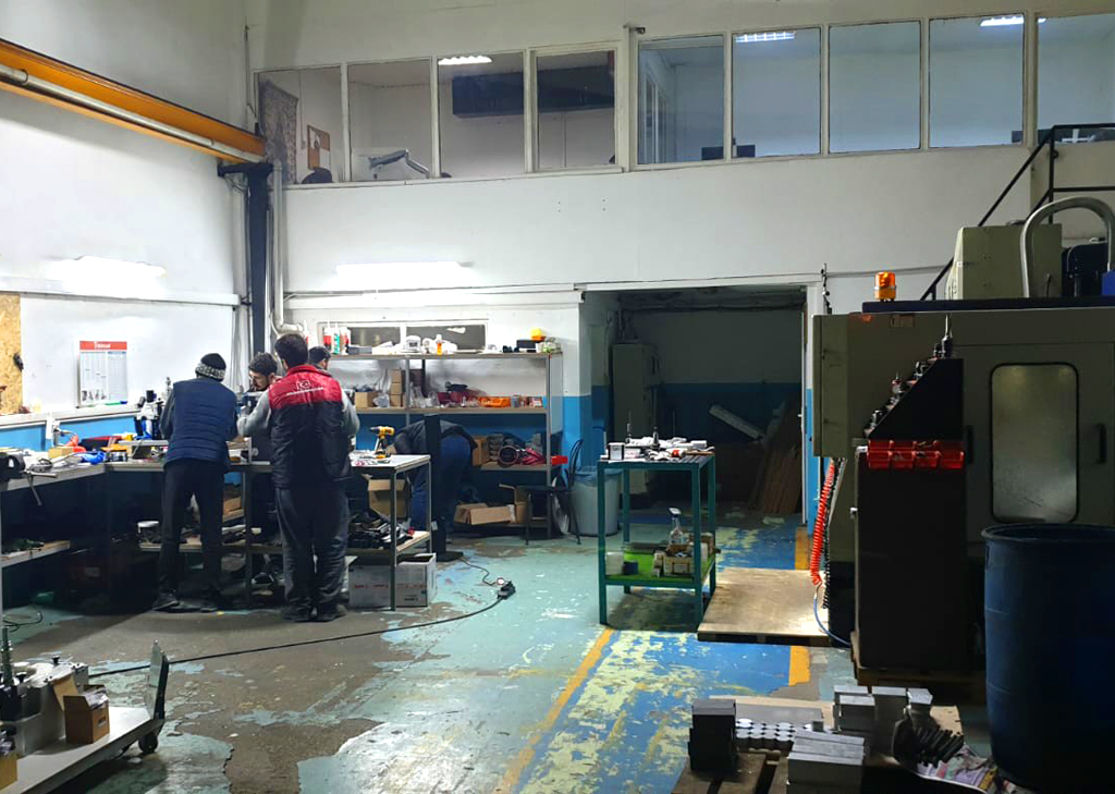 allame fabrika üretim tesisi