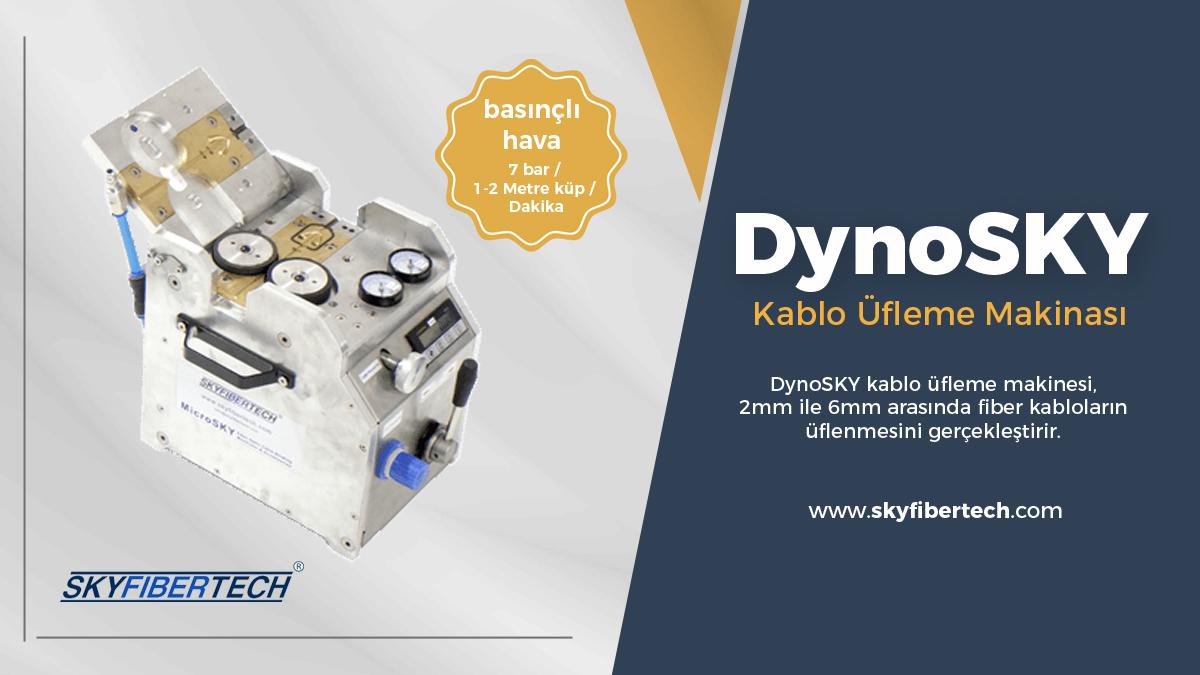 dynoSky-kablo-üfleme-makinası