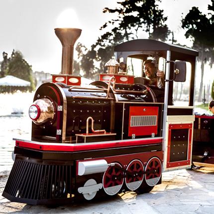 elektrikli çocuk treni efe model