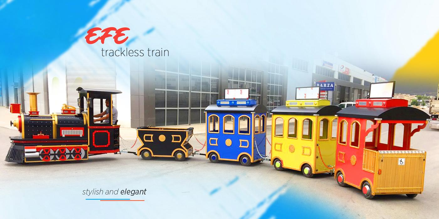 trackless train efe